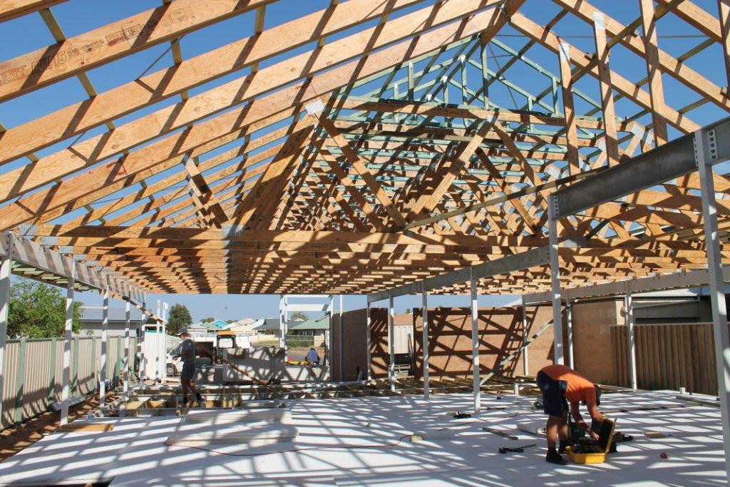raking trusses in a c3 wind region