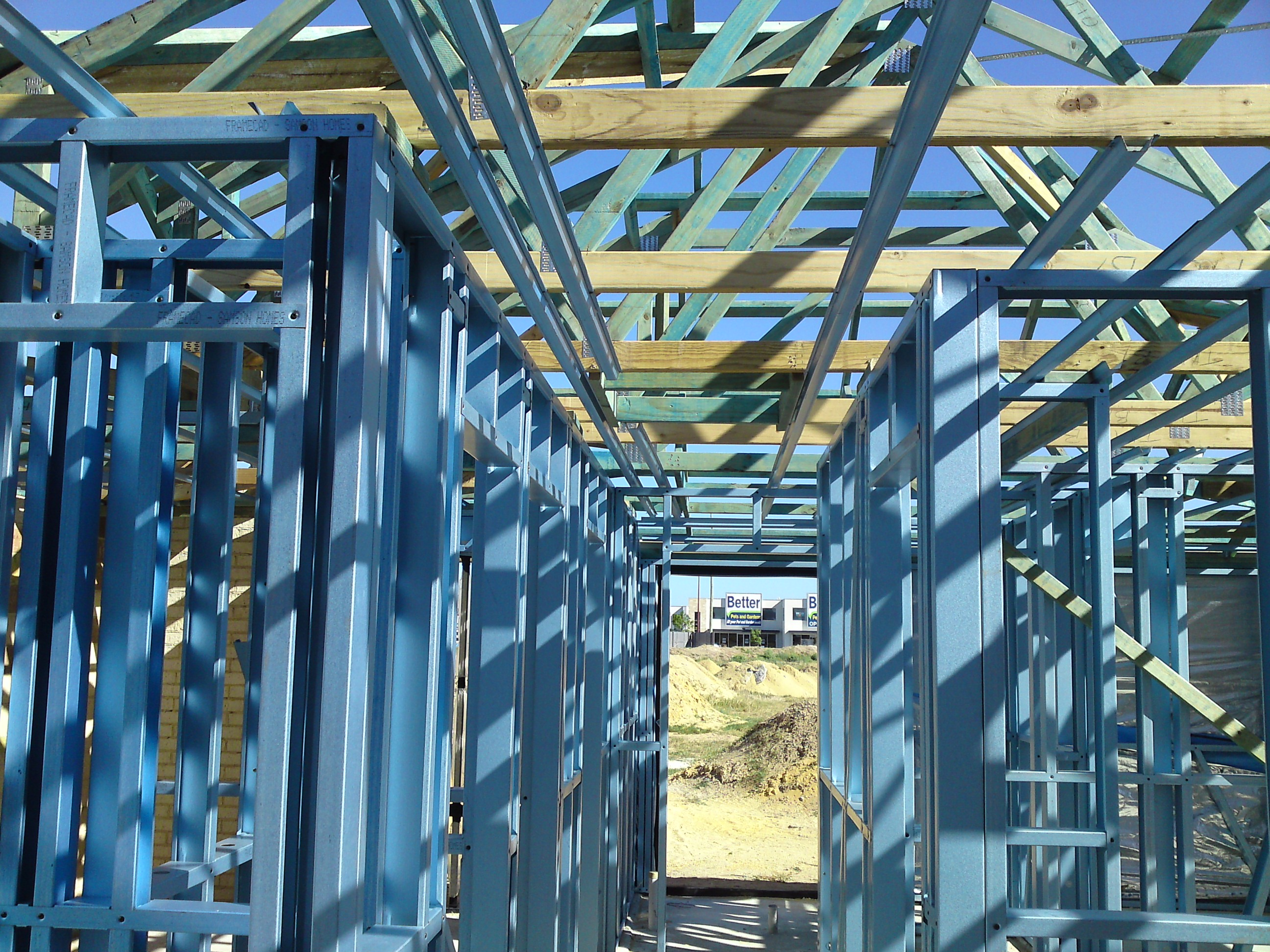 Steel Frame & trusses